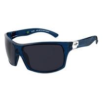 Óculos Solar Sol Mormaii Nunki Polarizado Azul Translúcido