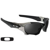 Oculos Pitboss Ii Preto Cinza Lente Black Frete Gratis