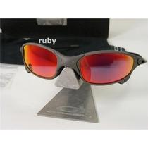 Oakley 24k Juliet X Metal Fosco Polarizado Ruby