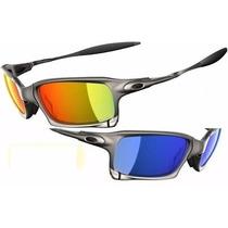 Oculos Oak Squared X Metal Varias Cores - Temos Juliet Mars