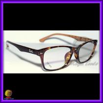 Óculos De Grau, Armação, Wayfarer Cor Tartaruga Ref: Rb6232