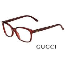 Armação Feminina Gucci Modelo Gg 3629 Dxl - 53