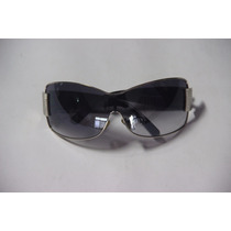 Óculos De Sol Feminino Retangular Tamanho G Semi Novo