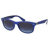 Óculos De Sol Ray Ban New Wayfarer Liteforce Rb4207 6015/8g