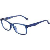 Óculos Grau Calvin Klein Ck 5837 Azul Promocao Saldao12x