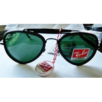 Oculos Ray Ban Caçador Pequeno Unisex Italy Made Lindo Novo