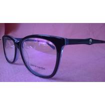 Óculos Armação Receituário Pierre Cardin Fotos Reais