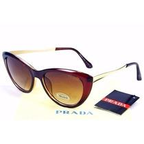 Óculos De Sol Clássico Cat Eye - Frete Grátis