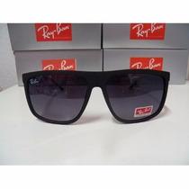 Óculos Quadrado Rb 13103 Preto Fosco Com Lente Degrade