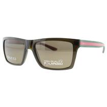 Óculos De Sol Gucci Gg 1013/s 53usp Marrom