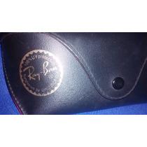 A - Case Para Óculos Ray Ban Original De Couro R$ 38,00