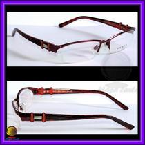 Óculos De Grau, Armação, Aro E Haste Cor Vinho Pr598hv