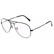 Armação Para Óculos De Grau Rayban Aviador Frete Gratis