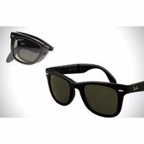 Óculos Rb Ray Ban Wayfarer Dobrável Rb4105 Com Frete Gratis