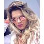 Óculos Desol Unisex Aviador Aviator Espelhado Rosarose+ Case