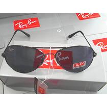 Ray Ban 3025 Aviador Preto Lente Fumê De Cristal Promoção!!!
