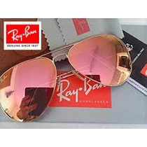 Ray-ban Aviador Espelhado Rosé - 3025 (m)