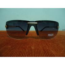 Oculos De Sol Preto Lentes Fume Degrade Frete Grátis