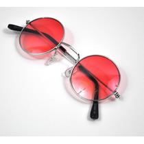 Óculos Redondo Jonh Lennom, Ozzy,varias Cores E Frete Grátis
