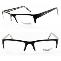 Armação Óculos Acetato Masculino Esportivo P/ Grau - 5020
