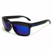 Óculos Holbrok Preto Azul Melho Preço Aproveite Frete Grátis