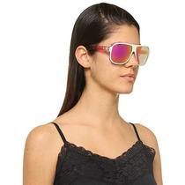 Óculos De Sol - Absurda Calixto Preto Com Haste Azul