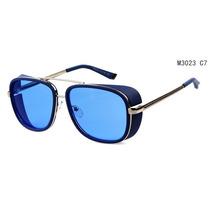 Oculos 2014 Homem De Ferro 3 Matsuda Ray Tony Azul Top
