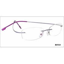 Armação P/ Óculos Grau Sem Aro! (memory Titanium) 8 Cores!