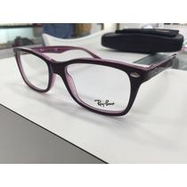 Oculos Para Grau Ray Ban Rb 5228 2126 53 Original P. Entrega