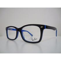 Armação Óculos Grau Ray-ban Rb 5184 New Wayfarer 4 Cores