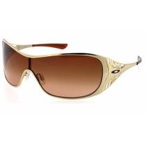 Oculos De Sol Oak Liv Dourado - Temos Dart E Remedy