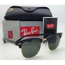 Óculos Ray Ban Clubmaster Preto Ou Tartaruga Original