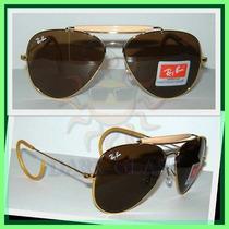 Óculos De Sol Rb3030 Caçador Tamanho G, Várias Cores