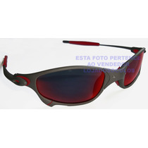 Oculos Juliete Xmetal Lente Dark Ruby Polarizada Uv/uva400