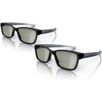 Óculos Pta436 Para Dual View Gaming Nas Tvs Philips Easy 3d