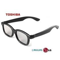 Óculos 3d Passivo Polarizado - Lg, Samsung, Philips, Toshiba