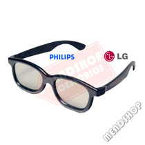 Óculos 3d Polarizado Passivo P/cinema Reald E Tvs Lg Philips