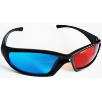 Óculos 3d Azul + Vermelho