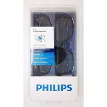 Óculos Pta436 Dual Gaming Glasses 3d Philips Original
