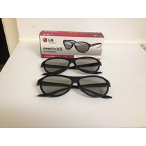 Par De Óculos 3d Lg Passivo - Novo Na Caixa