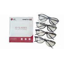 Kit Jogo De 4 Oculos 3d Lg Original Cinema Passivo Jvc Sony