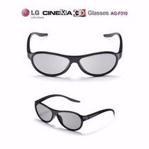 2 Óculos 3d Passivo Tv Lg Ag-f310 Lm Lw Cinema 3d Original