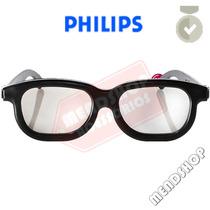 Óculos 3d Philips Passivo Original Polarizado Pta416 Pta417