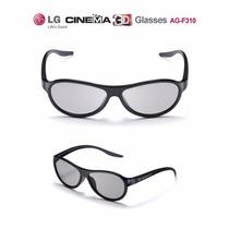 2x Óculos 3d Passivo Tv E Cinema - Lg Ag-f310 - O Par Cinema