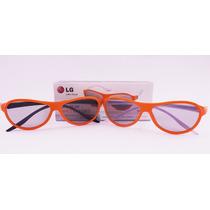 Par Óculos 3d Dual Play Passivo Lg Ag-f310 Ag-f400 Original