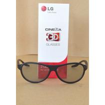 Par Óculos 3d Passivo Lg Original Agf310 Cinema Novo