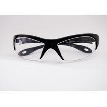 Armação Para Óculos De Grau Spy Esportivo Preto Curvado