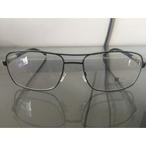 Óculos Bulget Em Aço Com Asti Emborrachada