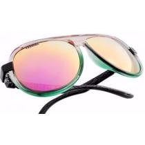 Óculos De Sol Absurda La Rocca Espelhado Rosa Furtacor
