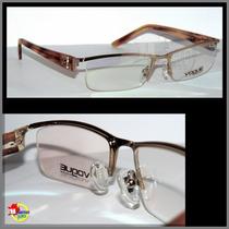 Armação Para Óculos De Grau Várias Cores Modelo Vo3700.